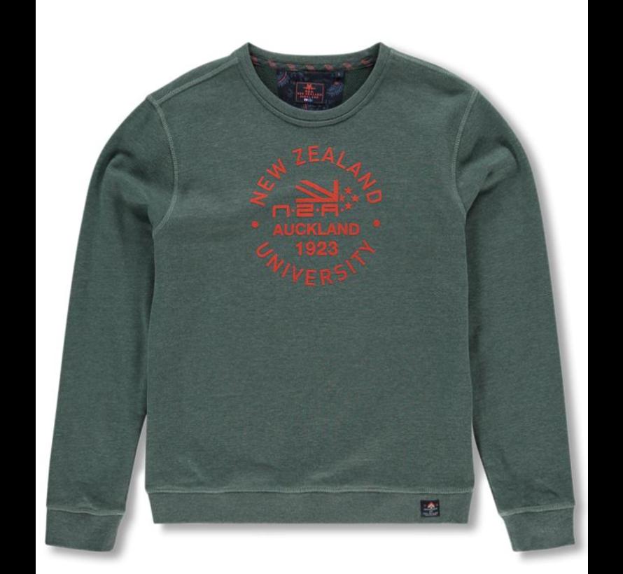 Sweater Waitakerenile  Logo Groen (19HN308 - 449)