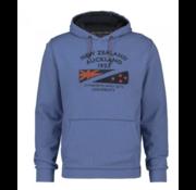 New Zealand Auckland Hooded Sweater Cambridge Blauw (19HN320 - 343)