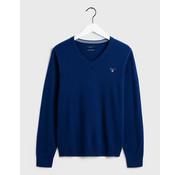 Gant V-Hals Pullover wol College Blue (86212 - 436)