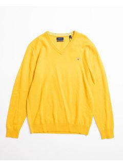 Gant V-Hals Pullover wol Ivy Gold (86212 - 710)