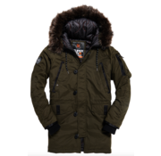 Superdry Winterjas Parka Olive (M5000082A - LO3)