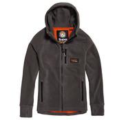 Superdry Fleece Vest met Capuchon Grijs (M2000029A - K6M)