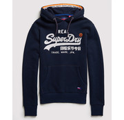 Superdry Hooded Sweater Logo Navy (M2000074A - 98T)