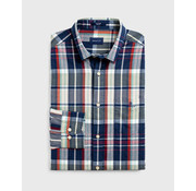Gant Overhemd Lange Mouwen Ruit Multicolor (3009420 - 302)