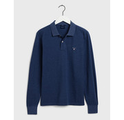 Gant Polo Lange Mouwen Blauw (5201 - 487)