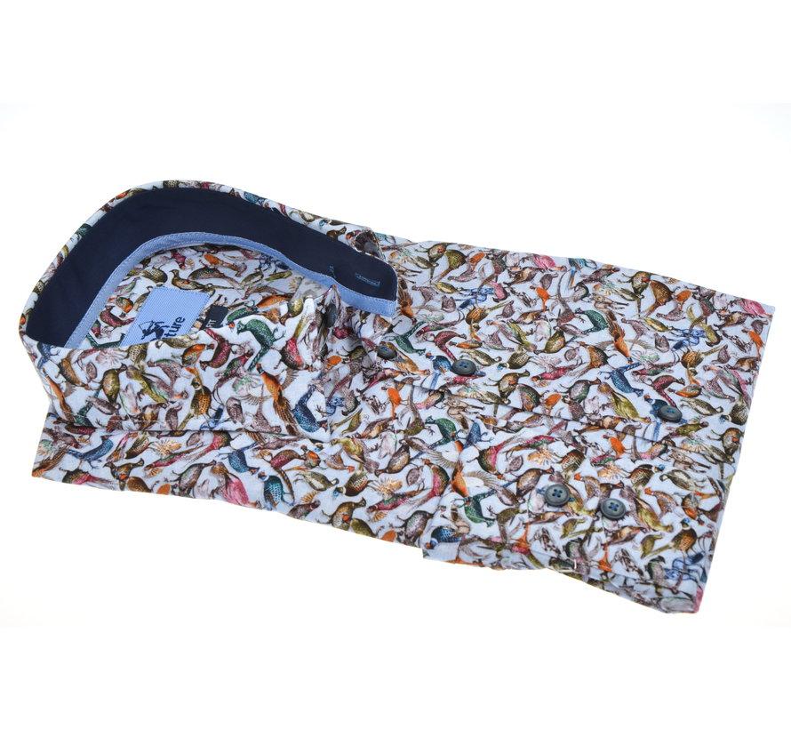 Overhemd Modern Fit Fazanten Multicolor (513984 - 33)