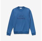 Lacoste Sweater Ronde Hals Logo Blauw (SH8546 - PQ8)