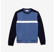 Lacoste Sweater Ronde Hals Navy/Blauw (SH0862 - 4NQ)