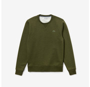 Lacoste Ronde Hals Sweater Army Groen (SH7613 - 5AT)