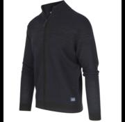 Blue Industry Vest Structuur Zwart (KBIW19 - M6 - BLACK)