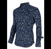 Cavallaro Napoli Overhemd Maestro Navy Print Bloemen (1095027 - 63633)