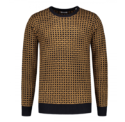Dstrezzed Crew Neck Sweater Bronze  (404228 - 305)