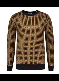 Dstrezzed Crew Neck Sweater Bronze  (404228 - 305)