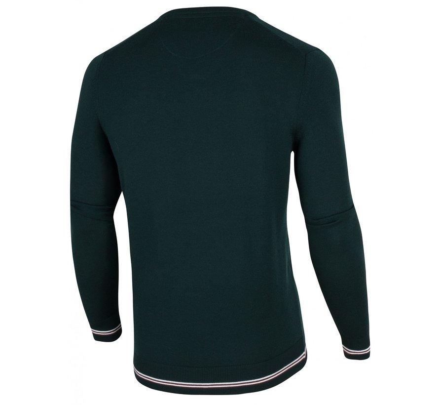 Pullover Romagno Ronde Hals Donker Groen (1895005 - 53000)