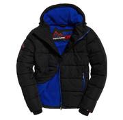Superdry Winterjas Sports Puffer Zwart (M50006CR - EUZ)