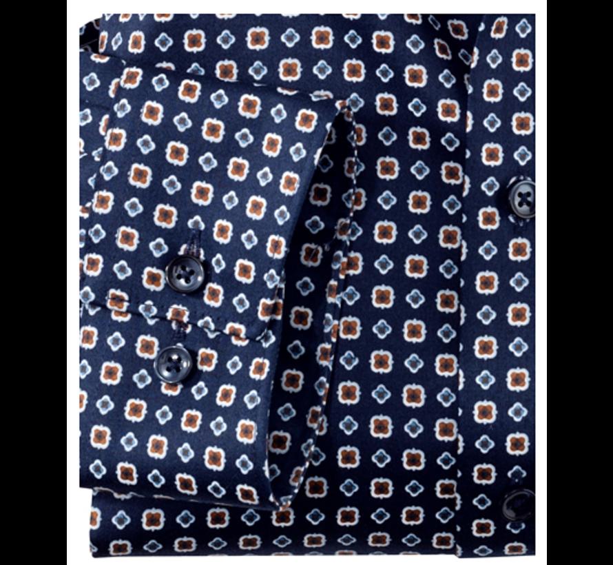 Overhemd Luxor Modern Fit Navy (1207 44 28)