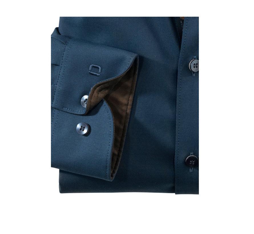 Overhemd Level Five Body Fit Marineblauw (2021 44 18)