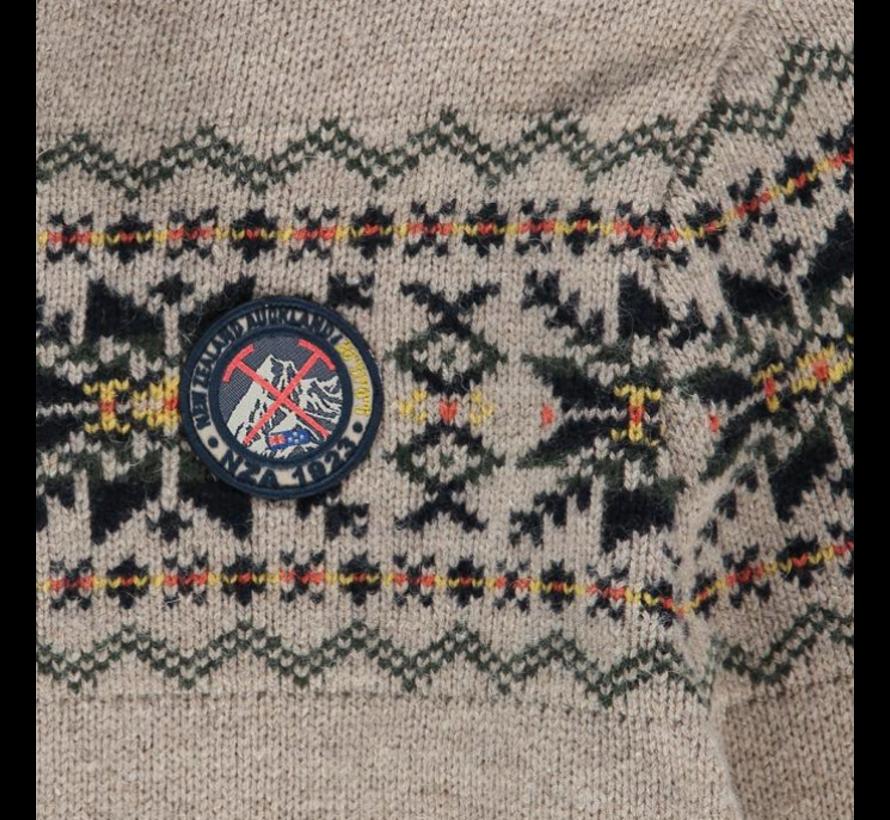 Trui Eastern Hutt Khaki Beige (19HN414 - 1804)