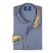 R2 Amsterdam Overhemd Blauw (106.WSP.112- 012)