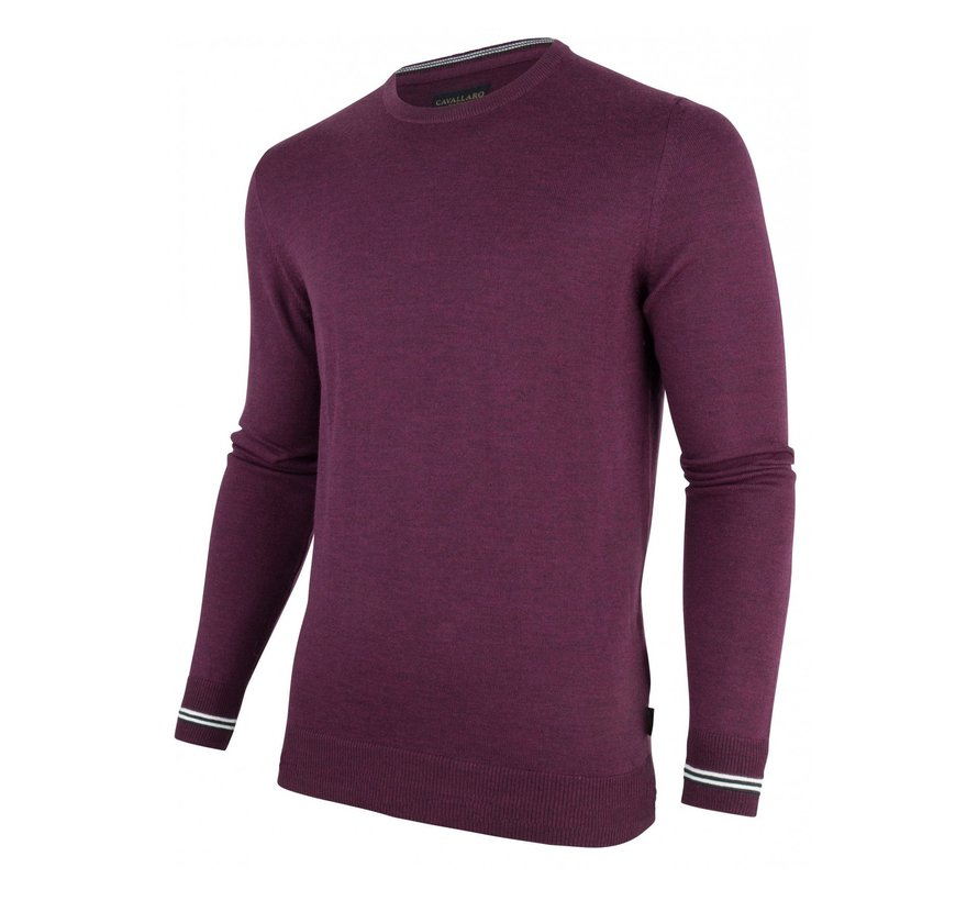 Pullover Romagno Ronde Hals Paars (1895005 - 65000)