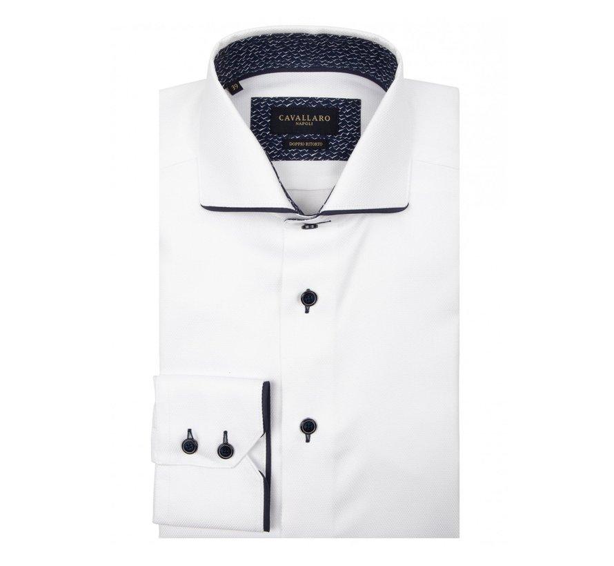 Overhemd George Wit (1095023 - 10630)