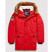 Superdry Parka Winterjas Everest Berry Rood (M5000040A - HW6)
