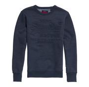 Superdry Premium Goods Classic Sweater Blauw (M20302SU - BCY)