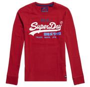 Superdry Longsleeve T-shirt Logo Rood (M6000037A - XSJ)