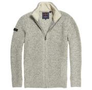Superdry Vest Wol Gevoerd Grijs (M6100011A - THU)