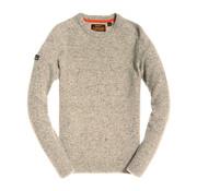 Superdry Harlo Twist Crew Neck Sweater Off White (M61001LR - US5)