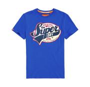 Superdry Heritage Classic T-Shirt Blauw (M10102KT - BFZ)