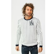 Amsterdenim Longsleeve T-Shirt Piet Slim Fit Wit (AM1903-580-000)