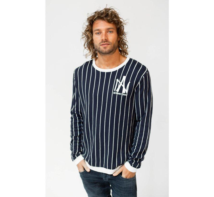 Longsleeve T-Shirt Piet Navy (AM1903-580-579)