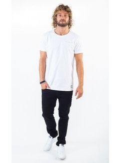 Amsterdenim T-Shirt Groeten Uit Regular Fit Wit (AM1903-304-000)