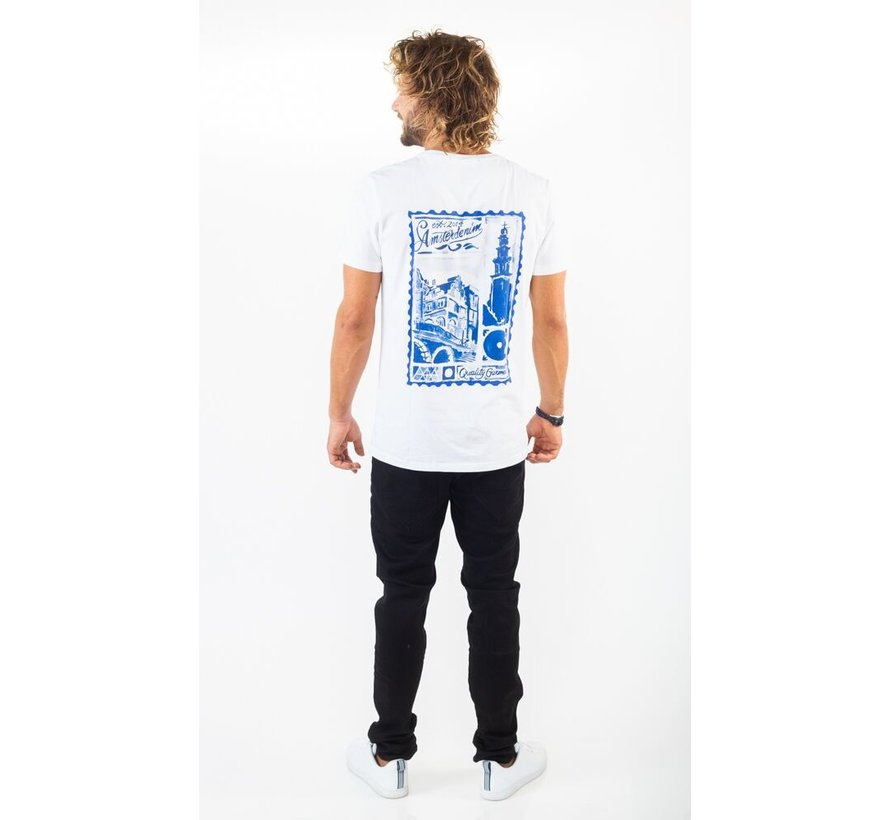 T-Shirt Groeten Uit Regular Fit Wit (AM1903-304-000)