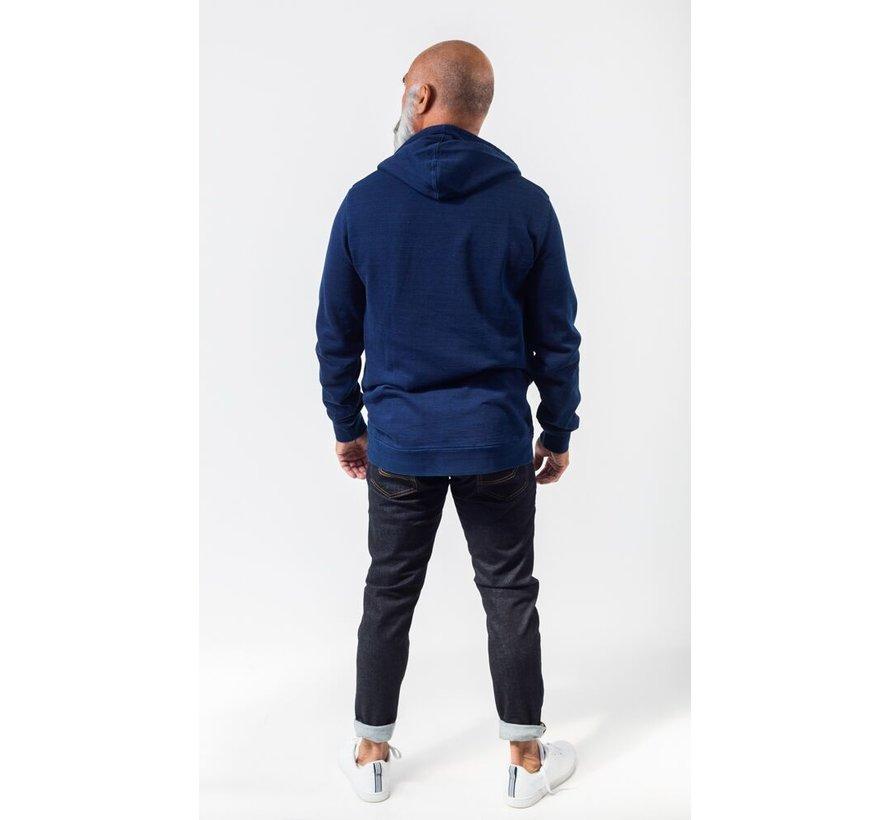 Hooded Sweater Bink Indigo (AM1903-570-401)