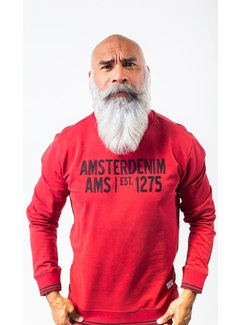 Amsterdenim Sweater Simon Rood (AM1903-501-300)