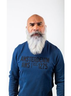 Amsterdenim Sweater Simon Blauw (AM1903-501-579)