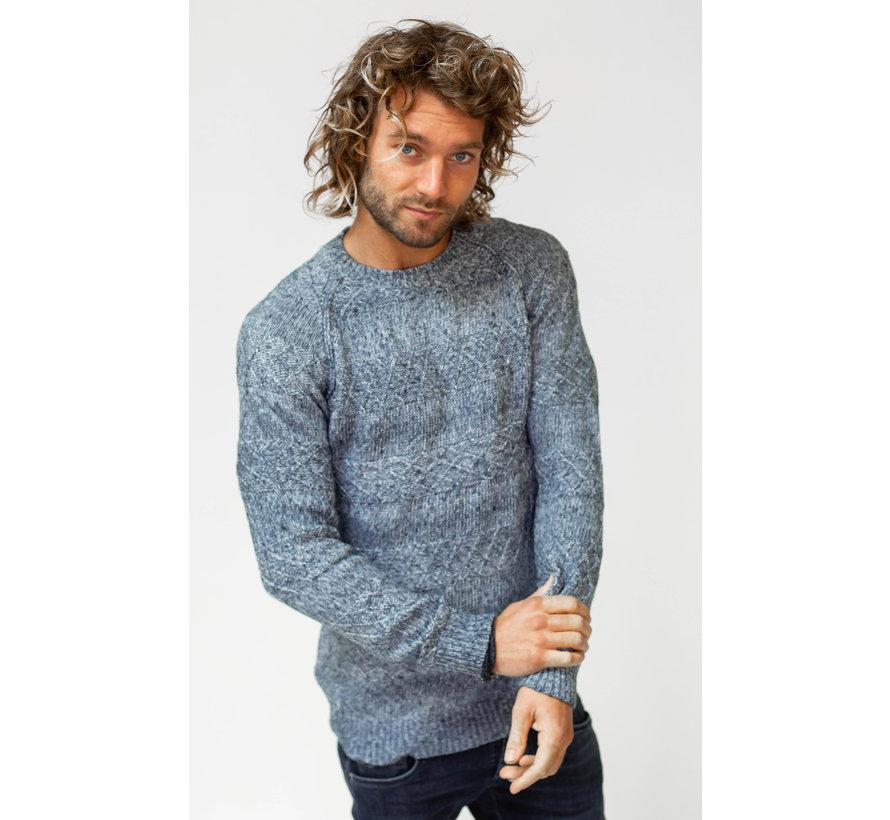 Sweater Jozias Blauw (AM1903-582-515)