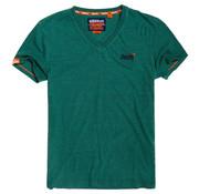 Superdry T-shirt V-hals Groen (M10106MT - B3M)
