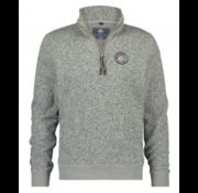 New Zealand Auckland Sweater Half-Zip Coromand Grijs (19KN301 - 72)