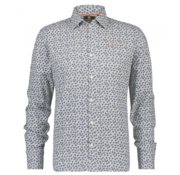 New Zealand Auckland Overhemd Lange Mouw Maropea Grijs (19KN575 - 70)