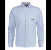 New Zealand Auckland Overhemd Lange Mouw Waituna Licht Blauw (19KN577 - 371)