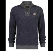 New Zealand Auckland Sweater Half-Zip Mangatewai Navy (19KN476 - 265)