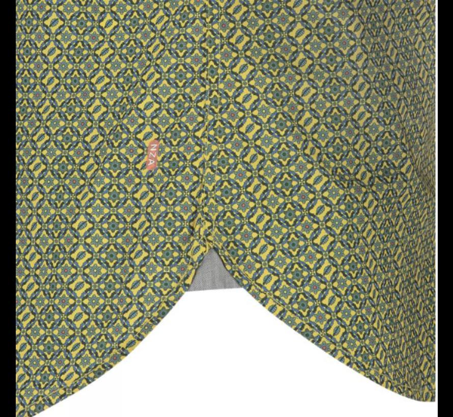 Overhemd Lange Mouw Wanganui Oker Geel (19KN510 - 692)