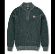 New Zealand Auckland Sweater Half-Zip Mangatewai Groen (19KN476 - 489)