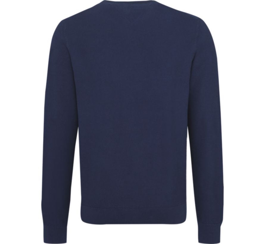 Sweater Ronde Hals Navy (MW0MW09780 - 435)