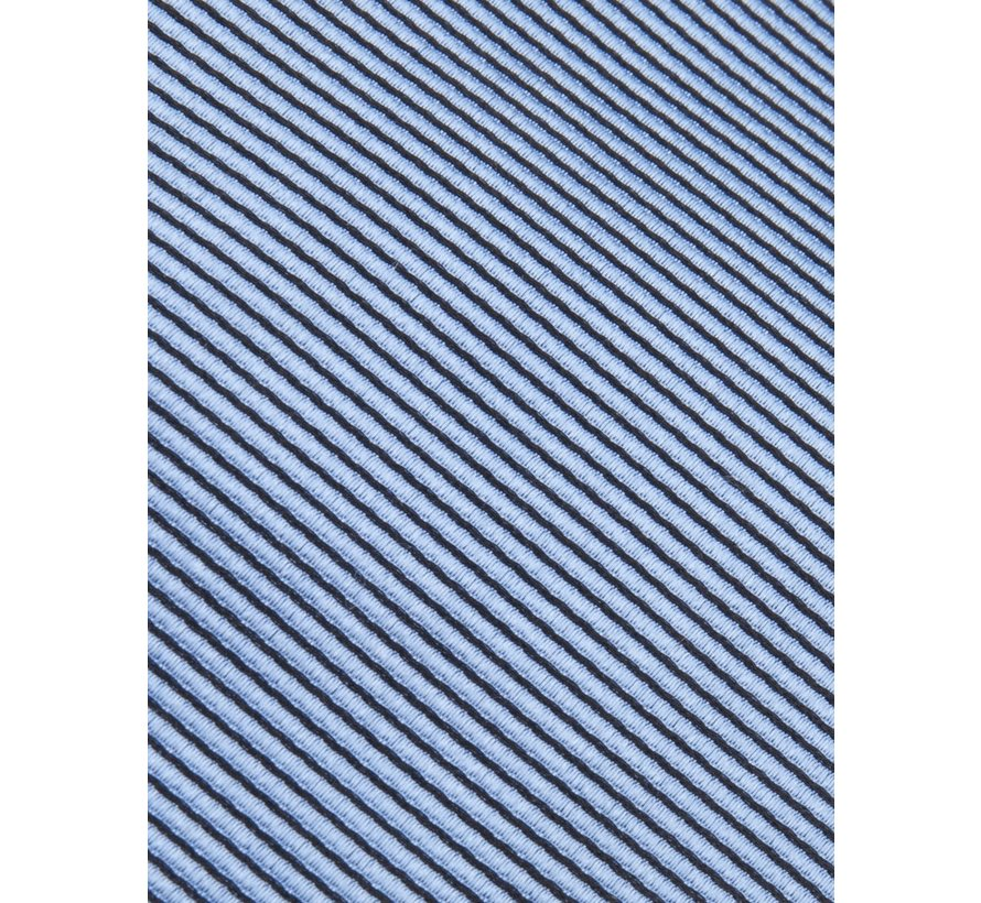 Stropdas Zijde Streep Lichtblauw (4290002 - 61000)