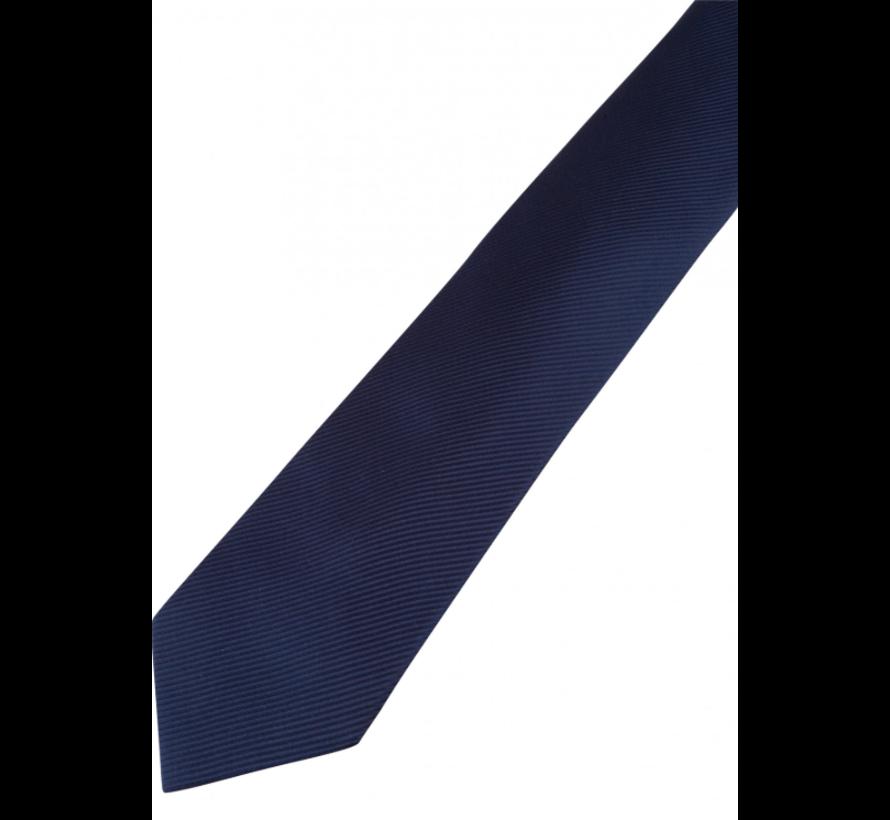 Stropdas Zijde Streep Donker Blauw (4290002 - 63000)