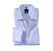 Olymp Overhemd Luxor Mouwlengte 7 Modern Fit Streep Blauw (0314 69 11N)